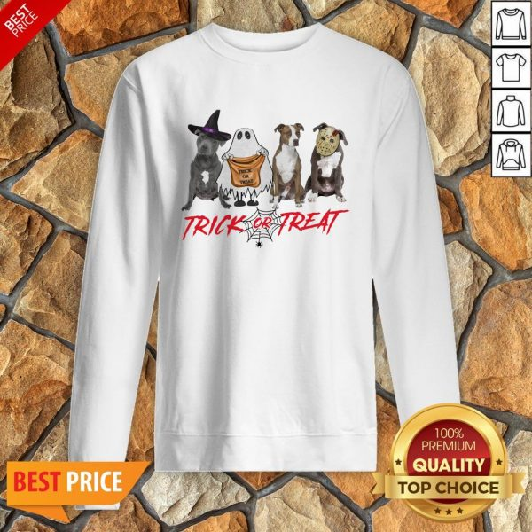 Nice Terrier Dog Trick Or Treat Sweatshirt