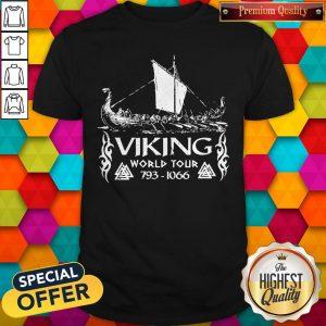 Nice Viking World Tour 793 1066 Shirt