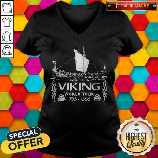 Nice Viking World Tour 793 1066 V-neck