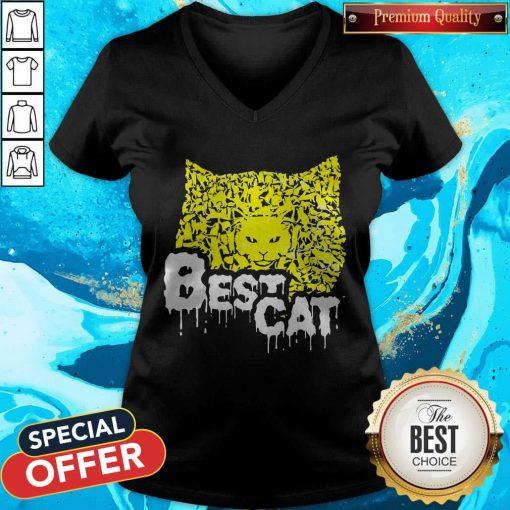 Office Best Cat V-neck
