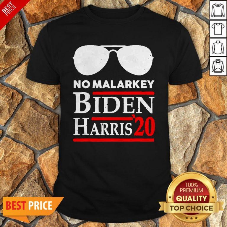 Official No More Malarkey Biden Harris 20 Shirt