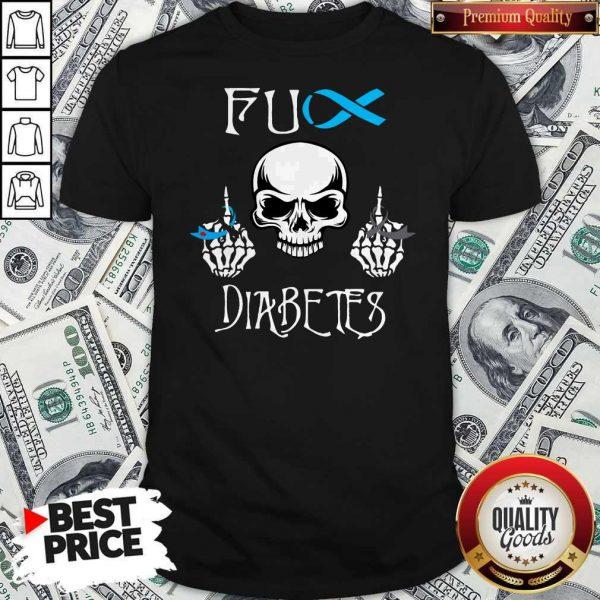 Official Skull Fuck Diabetes Shirt