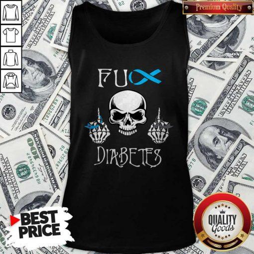Official Skull Fuck Diabetes Tank Top