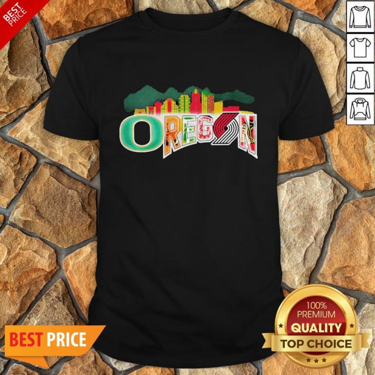Oregon Sport Team Oregon Ducks Football Shirt