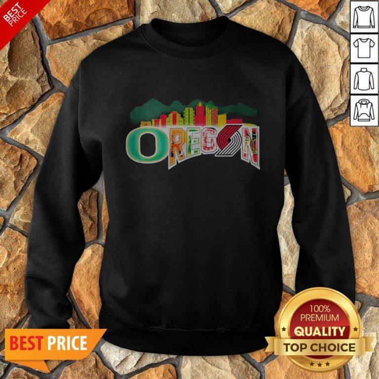 Oregon Sport Team Oregon Ducks Football Sweatshirt
