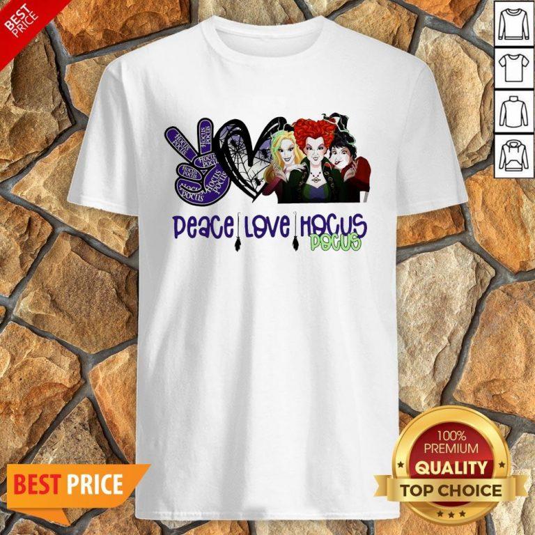Peace Love Hocus Pocus Shirt
