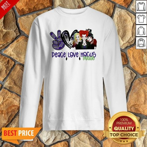 Peace Love Hocus Pocus Sweatshirt