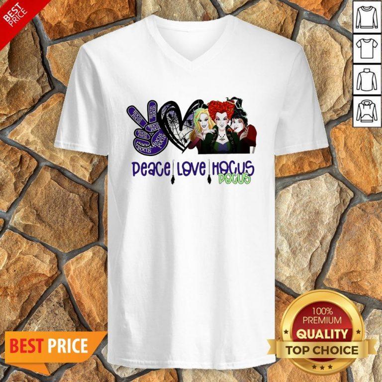 Peace Love Hocus Pocus V-neck