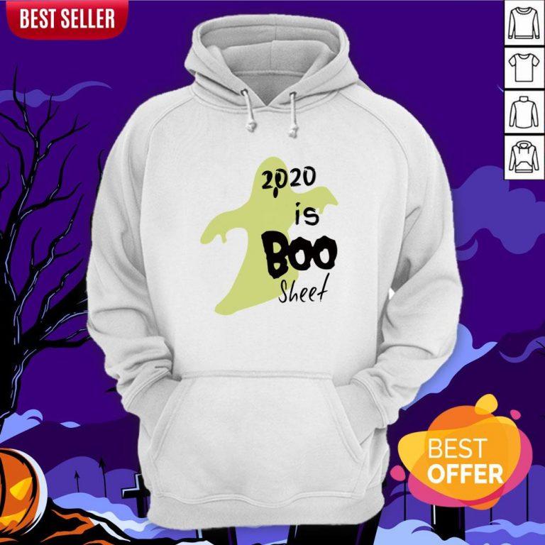 2020 Is Boo Sheet Spooky Quarantine Halloween Hoodie