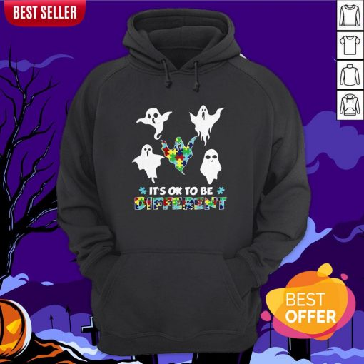 Boo Autism It's Ok To Be Different Hoodie