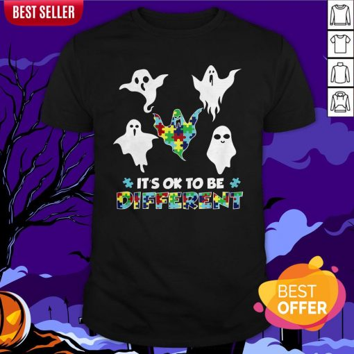 Boo Autism It's Ok To Be Different Shirt