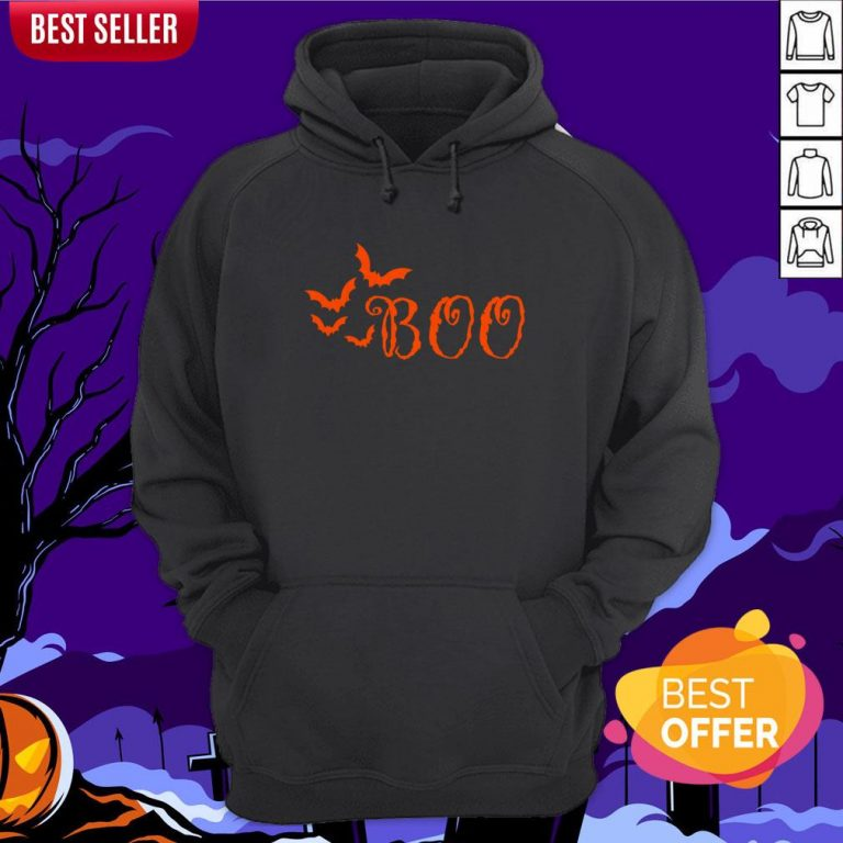 Boo Happy Halloween Day 2020 Hoodie