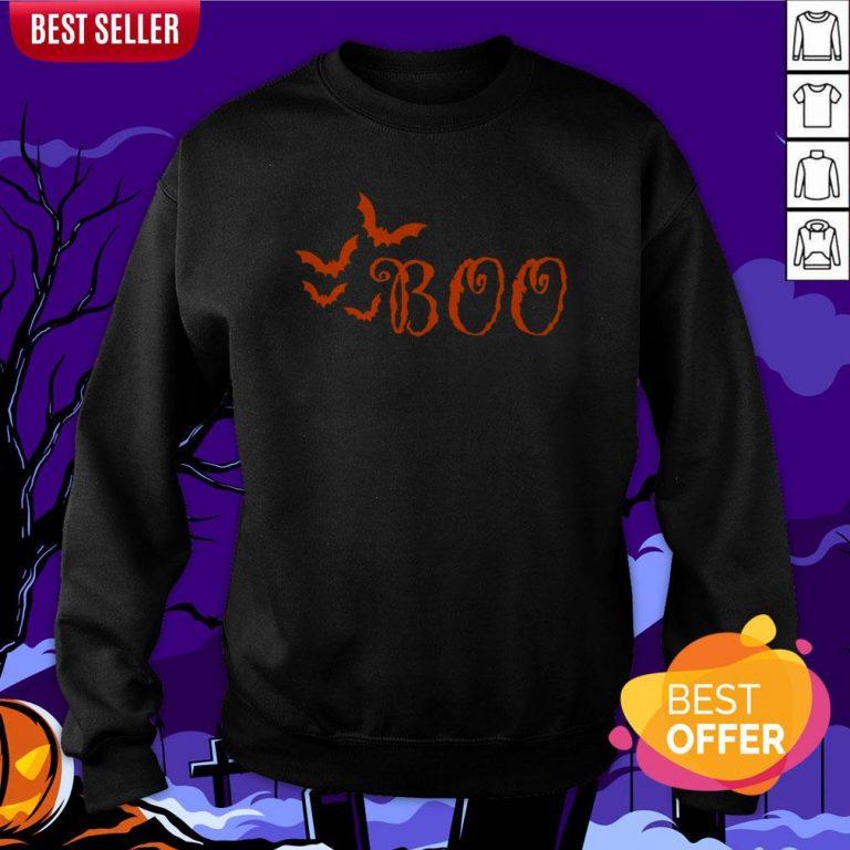 Boo Happy Halloween Day 2020 Sweatshirt