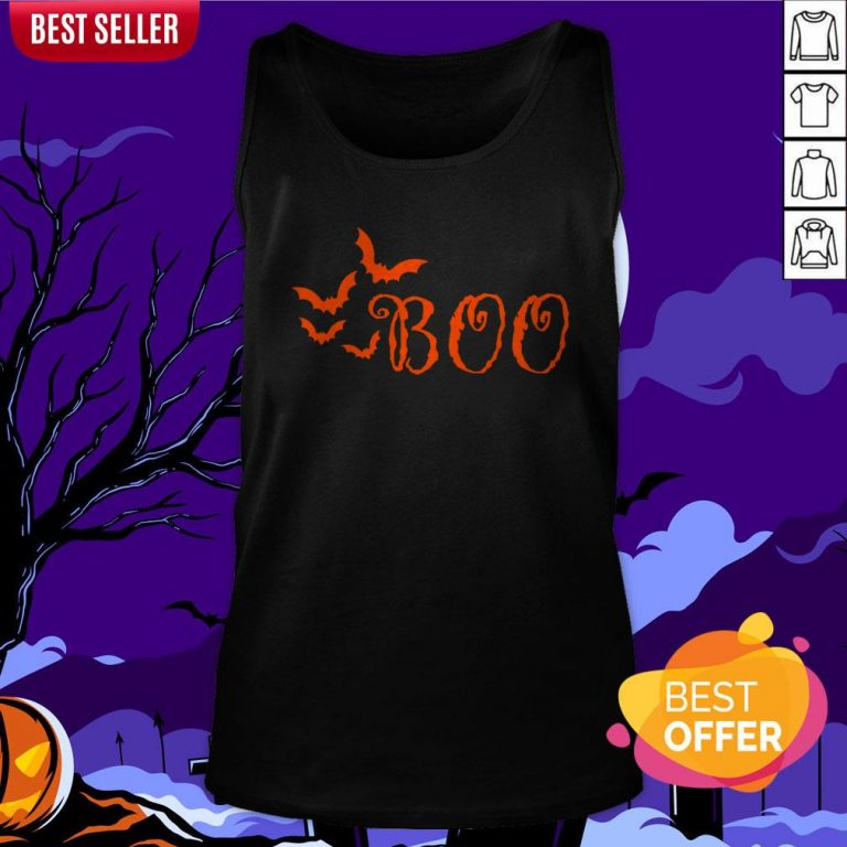 Boo Happy Halloween Day 2020 Tank Top