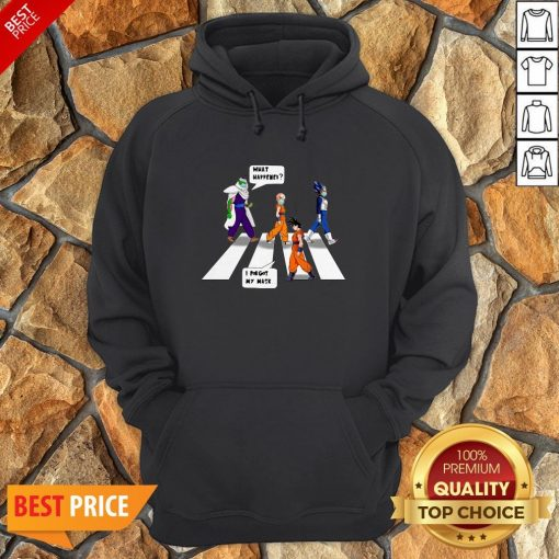 Dragon Ball Z Abbey Road What Happened I Forgot My Mask Hoodie