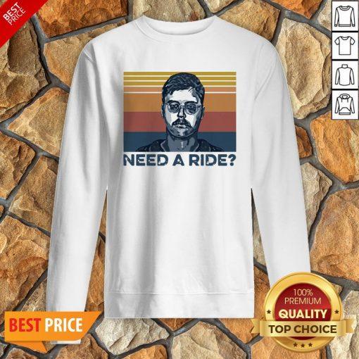 Edmund Kemper Need A Ride Vintage Sweatshirt