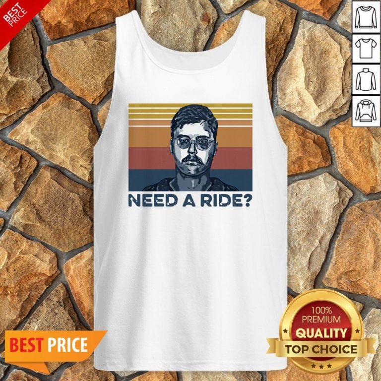 Edmund Kemper Need A Ride Vintage Tank Top