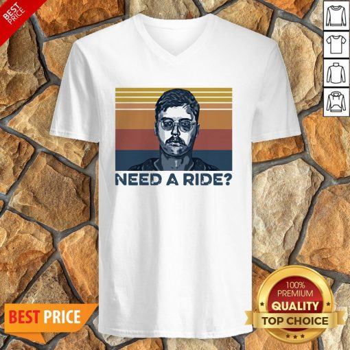Edmund Kemper Need A Ride Vintage V-neck