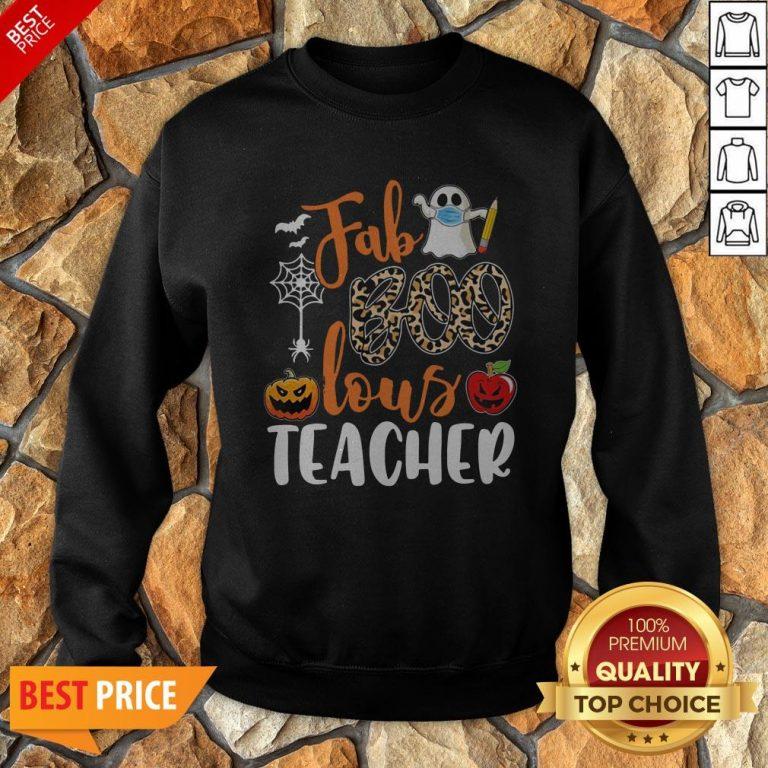 Fab Boo Lous Teacher Halloween Sweatshirt