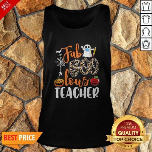Fab Boo Lous Teacher Halloween Tank Top