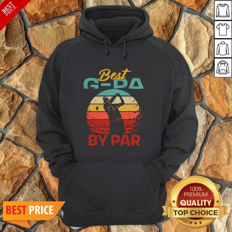 Father's Day Best G-Pa By Par Golf Hoodie