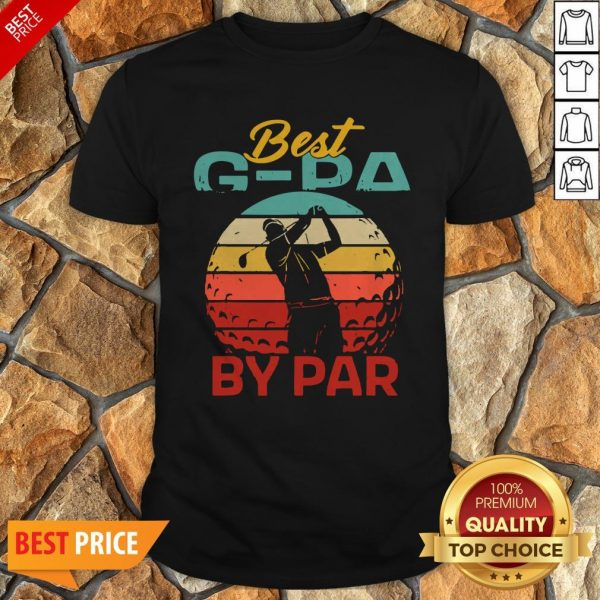 Father's Day Best G-Pa By Par Golf Shirt