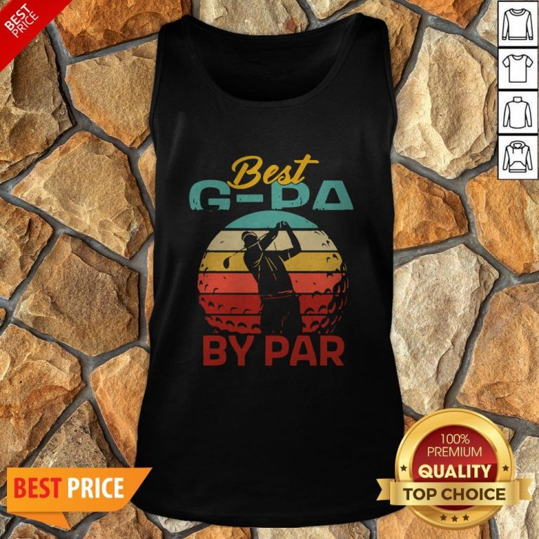 Father's Day Best G-Pa By Par Golf Tank Top