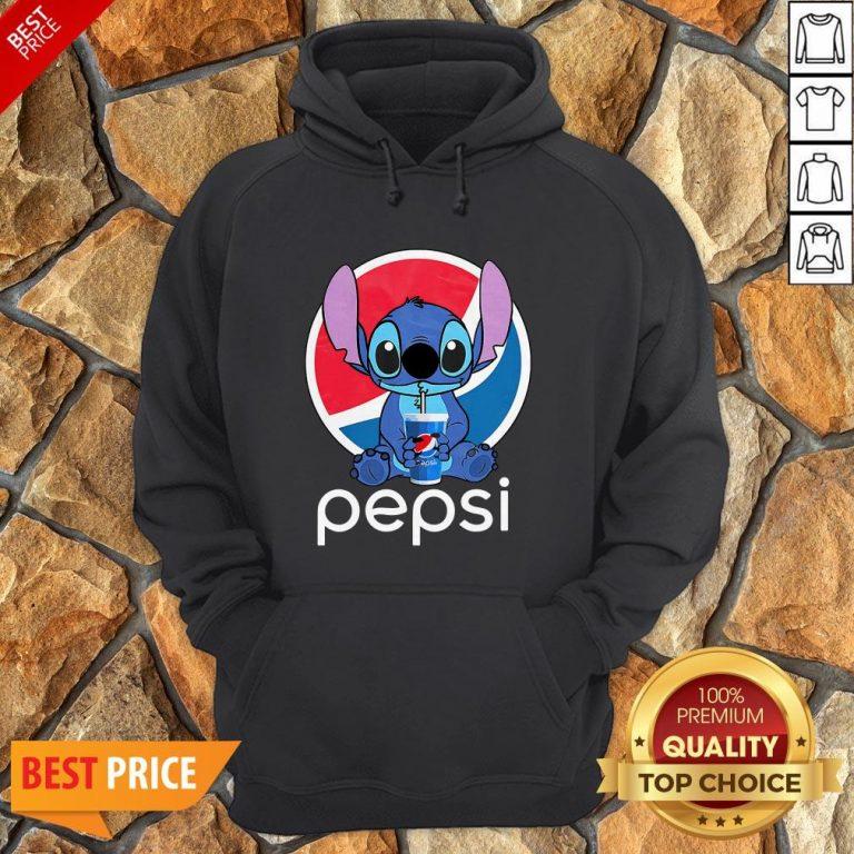 Funny Stitch Hug Pepsi Hoodie