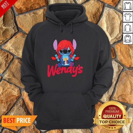Funny Stitch Hug Wendy's Hoodie