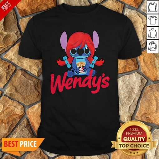 Funny Stitch Hug Wendy's Shirt