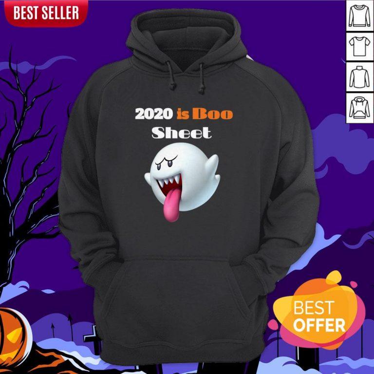 Happy Halloween Day 2020 Is Boo Sheet Hoodie