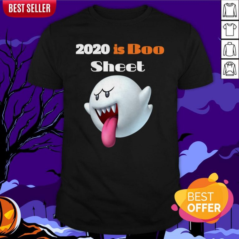 Happy Halloween Day 2020 Is Boo Sheet Shirt