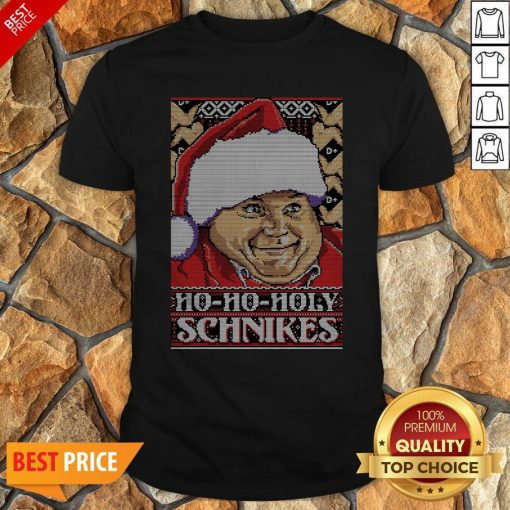 Ho-Ho-Holy Schnikes Christmas Shirt