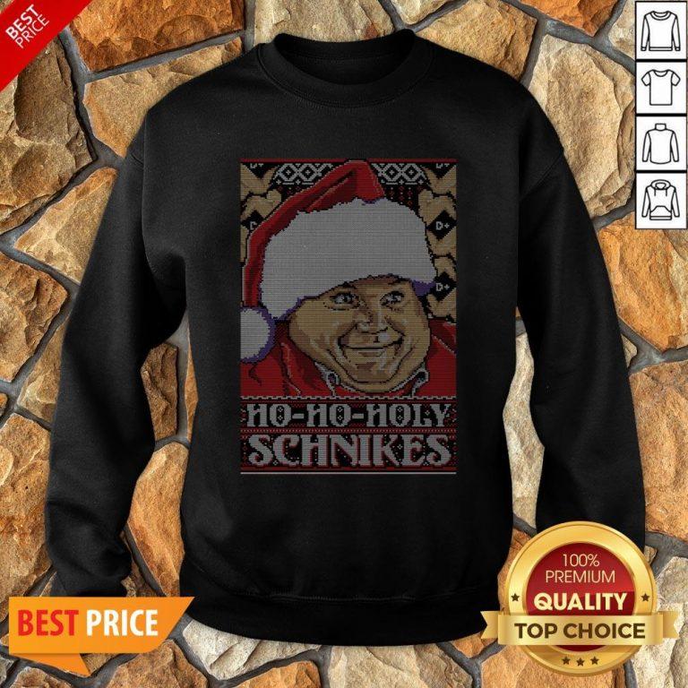 Ho-Ho-Holy Schnikes Christmas Sweatshirt