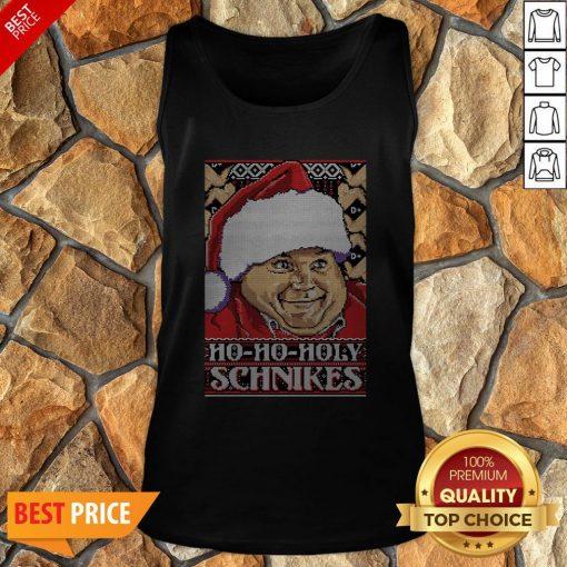 Ho-Ho-Holy Schnikes Christmas Tank Top