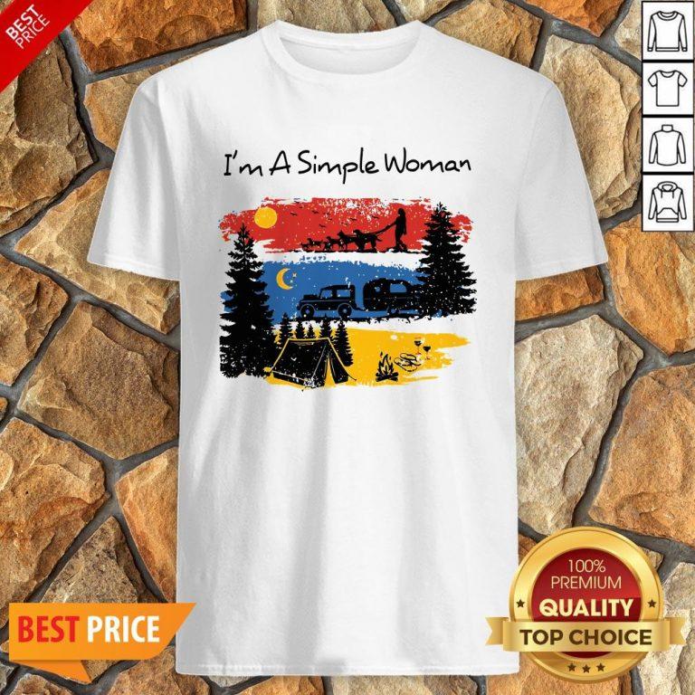 I'm A Simple Woman Christmas Shirt
