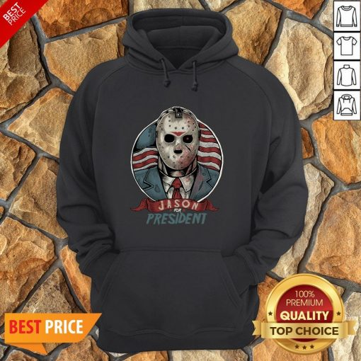Jason Voorhees For President American Flag Hoodie