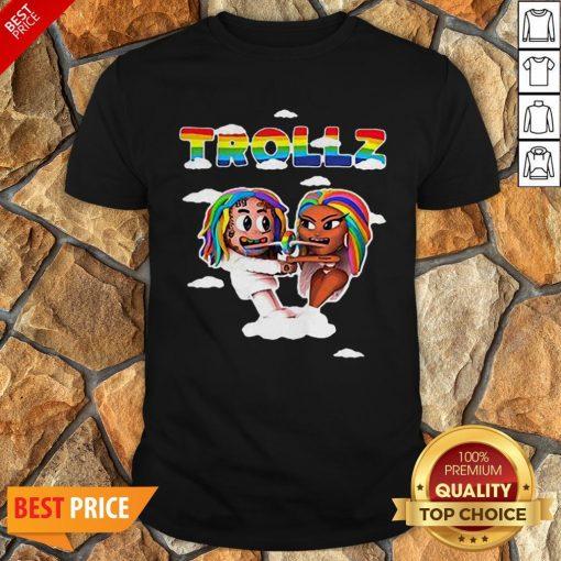 LGBT Trollz 6ix9ine Ft Nicki Minaj Shirt