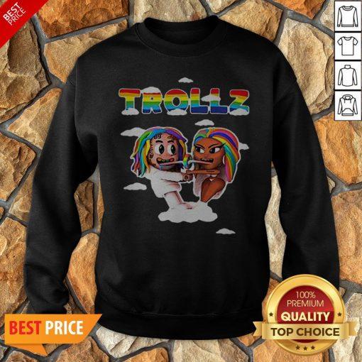 LGBT Trollz 6ix9ine Ft Nicki Minaj Sweatshirt