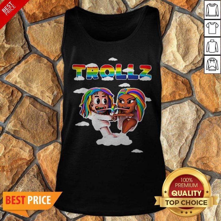 LGBT Trollz 6ix9ine Ft Nicki Minaj Tank Top