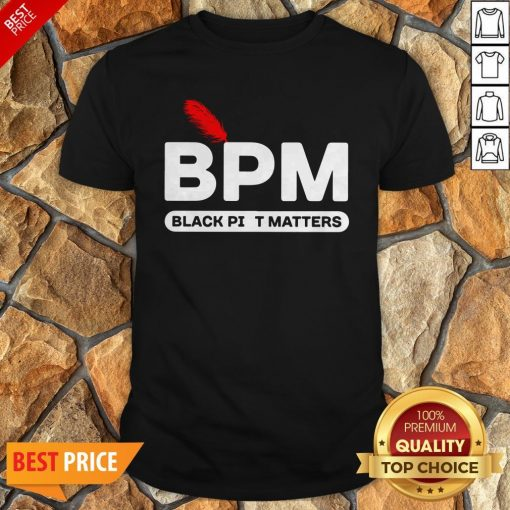 Nice BPM Black Piet Matters Shirt