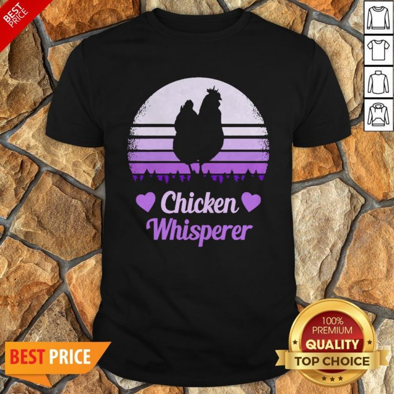 Nice Chicken Whisperer Vintage Shirt
