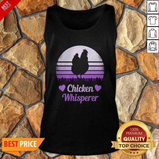 Nice Chicken Whisperer Vintage Tank Top