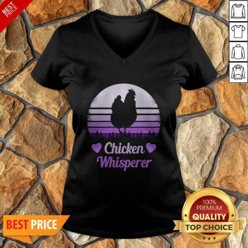 Nice Chicken Whisperer Vintage V-neck