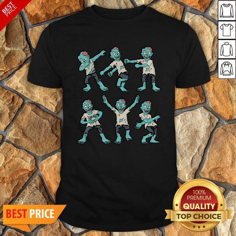 Nice Halloween Zombie Dance Shirt