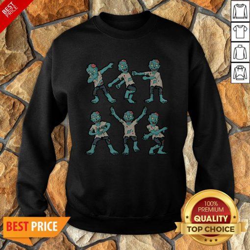 Nice Halloween Zombie Dance Sweatshirt