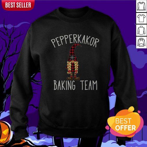 Nice Pepparkakor Baking Team Sweatshirt