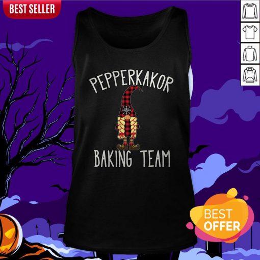 Nice Pepparkakor Baking Team Tank Top