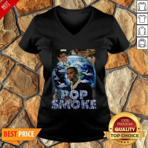 Nice Pop Smoke 2020 V-neck