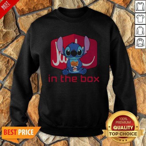 Nice Stitch Hug Jack In The Box Sweatshirt